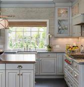 Beach style kitchen